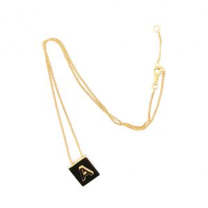 Menan A charm necklace letter collection